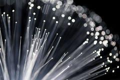 Fibra óptica de la tecnología de Internet fotografía de archivo