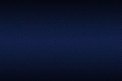 Fibra azul do carbono com cor, fundo e texto pretos do inclinação Foto de Stock
