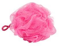 Fibra cor-de-rosa do banho Fotografia de Stock Royalty Free