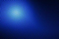 Fibra de carbono azul de la curva Foto de archivo libre de regalías