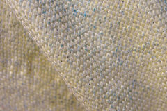 Fibra de Kevlar na vista macro Foto de Stock