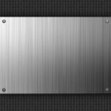 Fibra do carbono do aço inoxidável Imagens de Stock