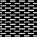 A fibra do carbono wowen a textura Ilustração Royalty Free