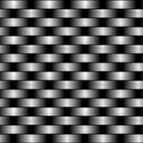 A fibra do carbono wowen a textura ilustração stock