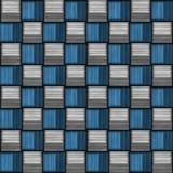 A fibra do carbono wowen a textura Ilustração do Vetor