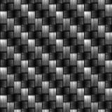 A fibra do carbono wowen a textura Fotografia de Stock Royalty Free