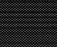Fibra nera del carbonio Fotografia Stock