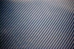 Fibra reale del carbonio Fotografia Stock