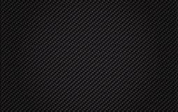 Fibra tessuta del carbonio Immagine Stock