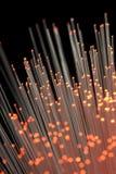 Fibras ópticas Foto de Stock Royalty Free