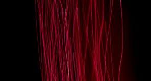 Fibras ópticas que brillan intensamente Imagenes de archivo