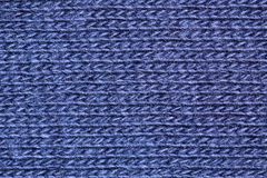 Fibras azuis do algodão imagens de stock royalty free