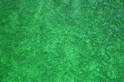 Fibras de la toalla verde del algodón Imagen de archivo