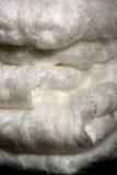 Fibras de seda naturais Imagem de Stock