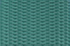 Fibras plásticas do entrelaçamento na cor de turquesa Textura do projeto fotografia de stock