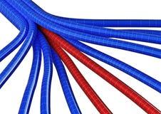 Fibre 1 de jonction de câble Illustration Libre de Droits