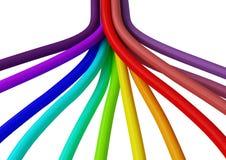 Fibre 2 de jonction de câble Illustration Libre de Droits