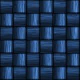 Fibre bleue de carbone illustration stock