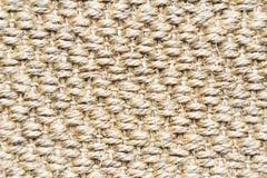 Fibre di lana tessute modello Fotografie Stock Libere da Diritti