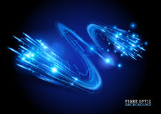 Fibre Optic Background. Vector illustration Royalty Free Stock Images