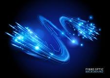 Fibre Optic Background vector illustration