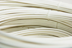 Fibre Optic Cable. On a white background Royalty Free Stock Images