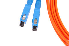 Fibre Optic Network Cables Stock Photos