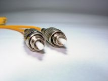 Fibre Optic Patch Cord Stock Images