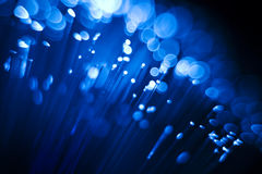 Fibre optics Royalty Free Stock Photos