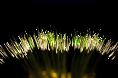 Fibre optics Stock Photography