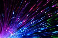 Fibre optics Stock Photo