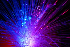 Fibre optique Photographie stock