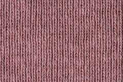 Fibre rosse sbiadite del cotone vicino su immagini stock libere da diritti