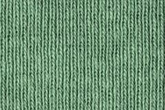 Fibre verdi sbiadite del cotone vicino su immagini stock