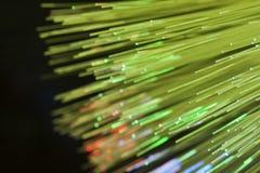 Fibres optiques Images libres de droits