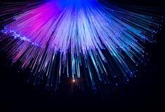 Fibres optiques photos stock