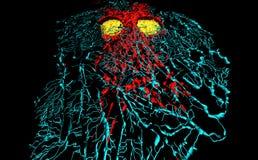 Fibroblast cells Stock Photo