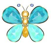 Fibula di Buterfly Immagini Stock Libere da Diritti
