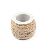 Ficelle de corde de Decorational sur une bobine Image libre de droits