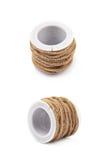 Ficelle de corde de Decorational sur une bobine Image stock