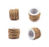 Ficelle de corde de Decorational sur une bobine Images libres de droits