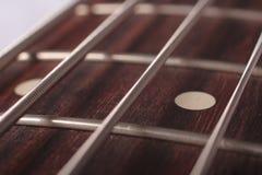 Ficelles de guitare Photographie stock libre de droits