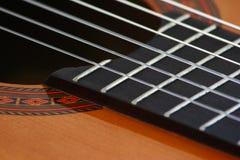 Ficelles de guitare Photos libres de droits