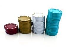 Ficha del póker Fotos de archivo