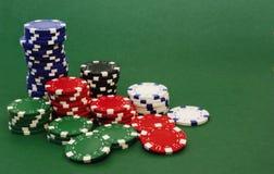 Fichas de póker Fotos de archivo