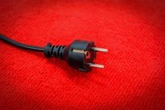 Fiche électrique Image stock