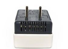 Fiche d'adaptateur électrique avec le fusible Images libres de droits