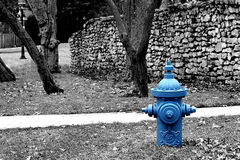 Fiche de l'eau photographie stock