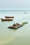 Fichermen小船 免版税图库摄影