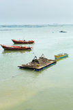 Fichermen boats Royalty Free Stock Photography